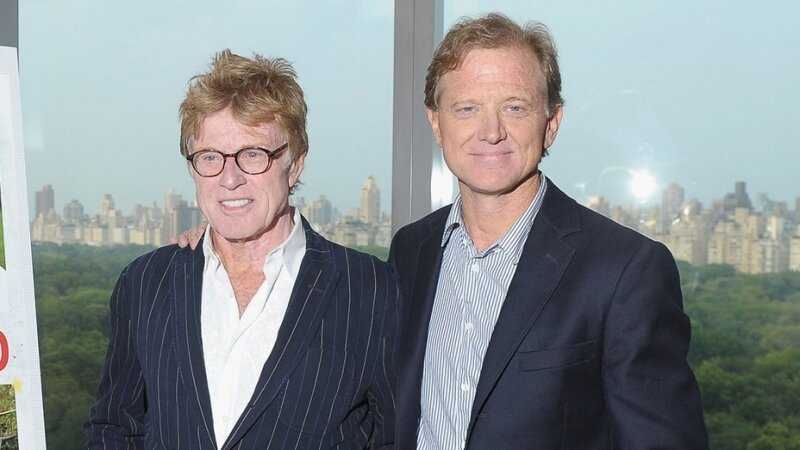 Meghalt James Redford, Robert Redford fia